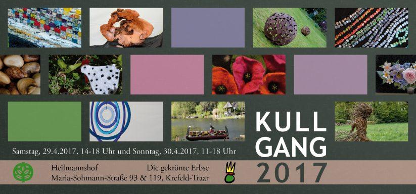Am letzten Aprilwochenende findet wieder die Ausstellung KULLGANG statt.